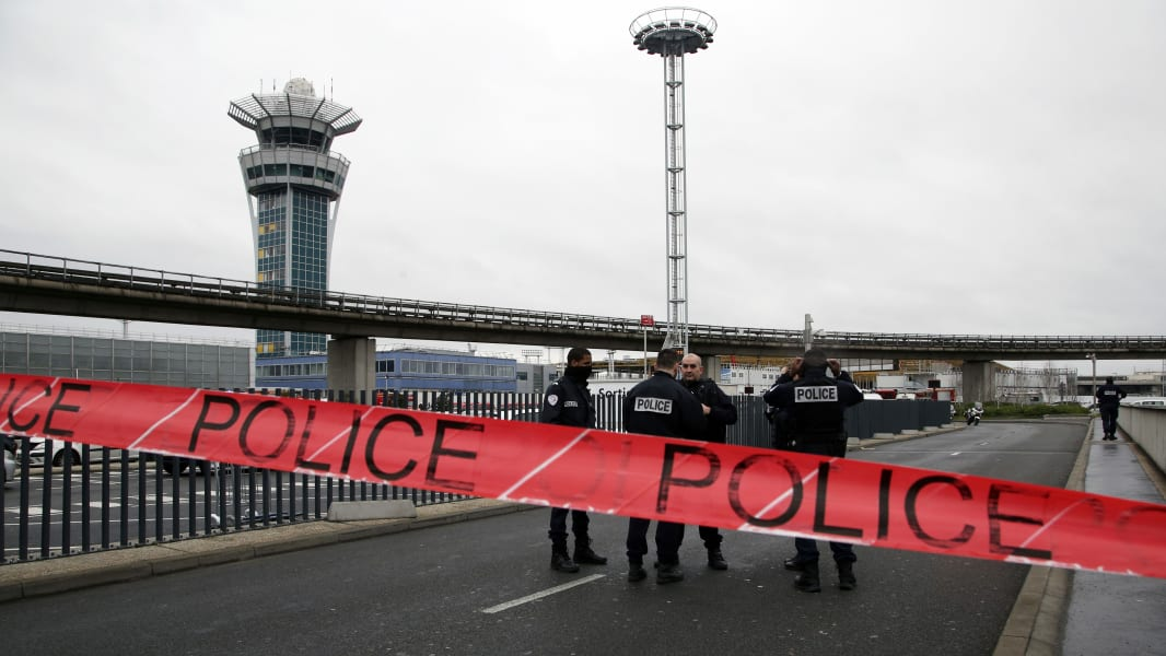 01 Paris Orly Airport shooting 0318