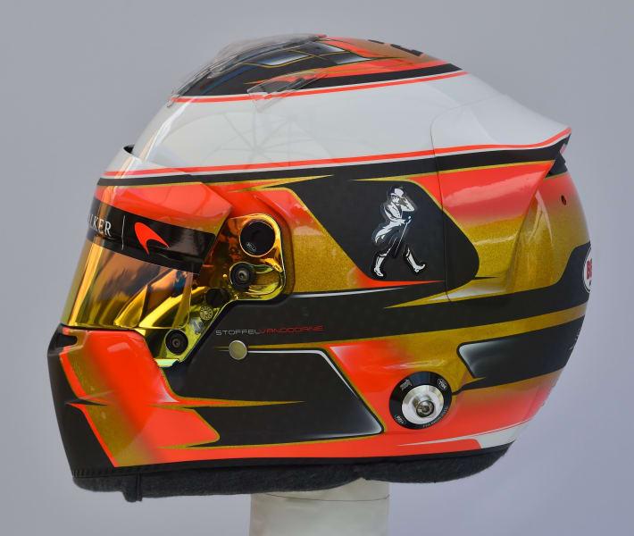 Stoffel Vandoorne helmet