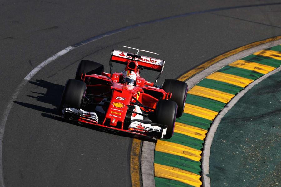 Sebastian Vettel Australian GP