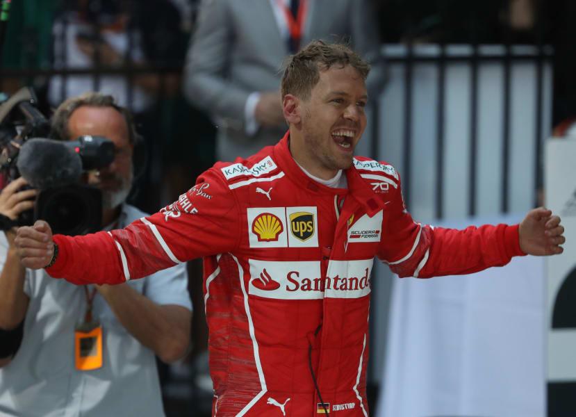 Vettel Aus Gp Smile