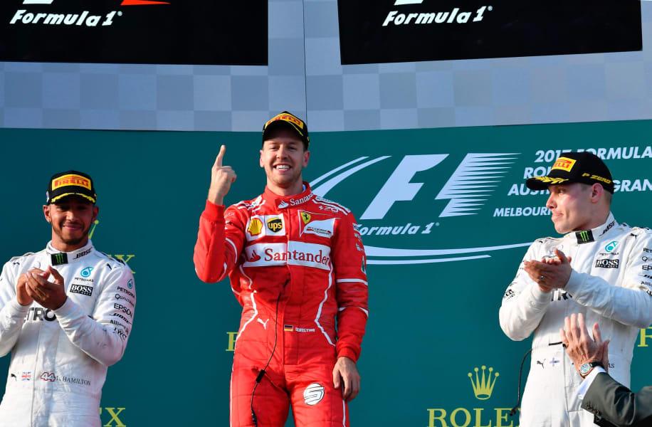 Vettel no 1 Australian GP