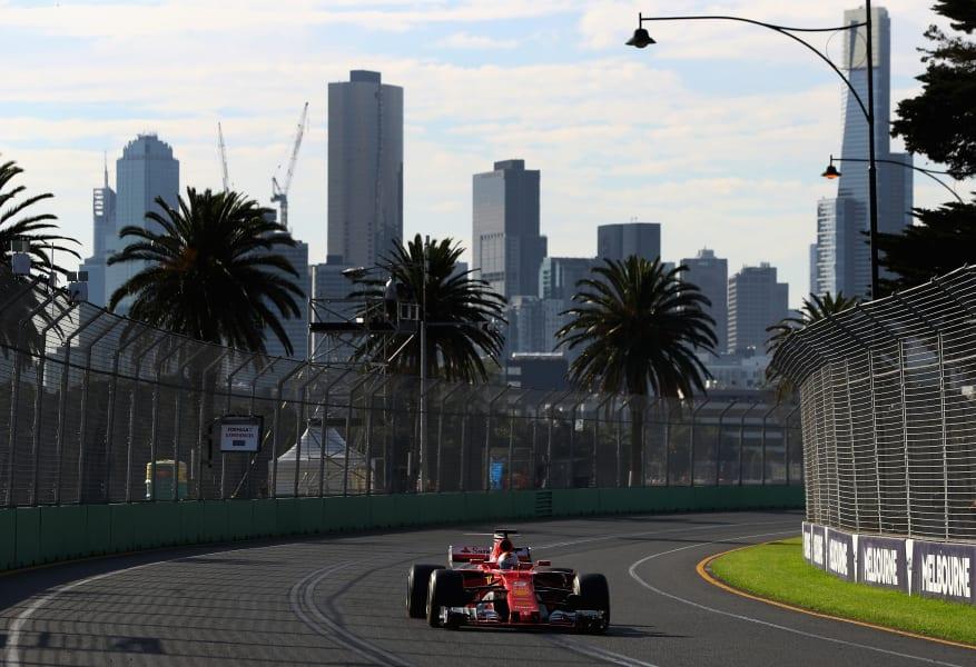 Vettel melbourne 2017