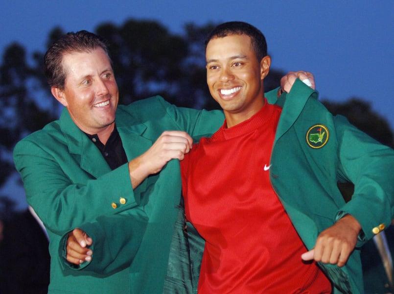 Green Jacket masters 2005