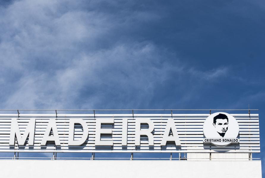 Madeira Airport cristiano ronaldo logo