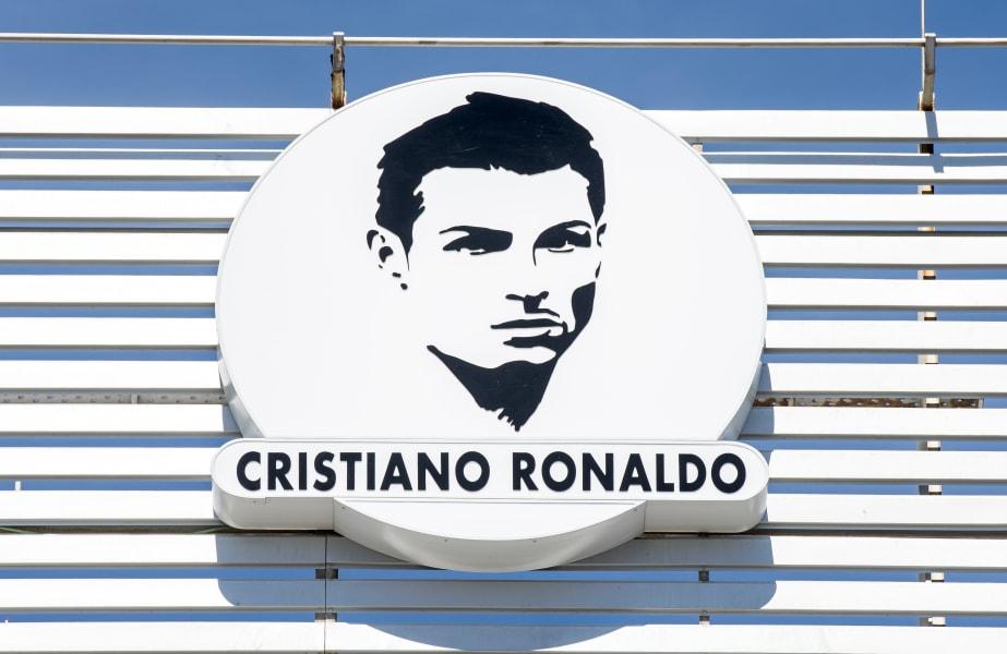 cristiano ronaldo logo madeira airport