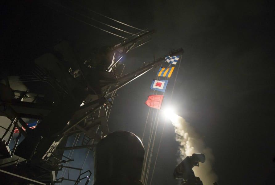 01 syria US missile strike 0406