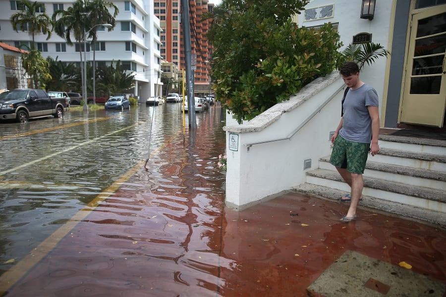 miami beach flood
