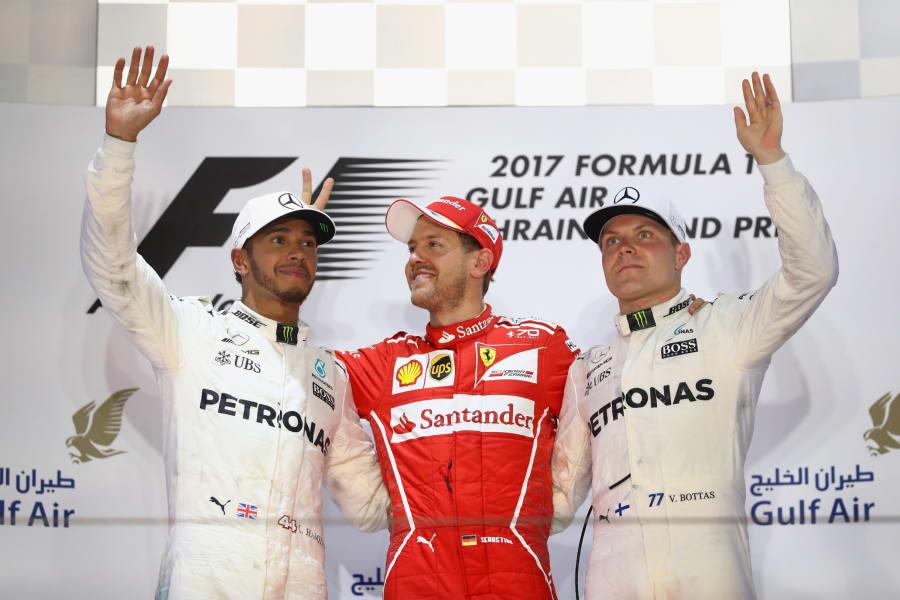 f1 bahrain podium