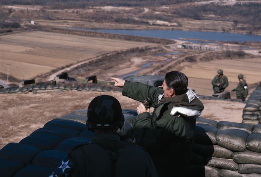 Ronald Reagan DMZ RESTRICTED