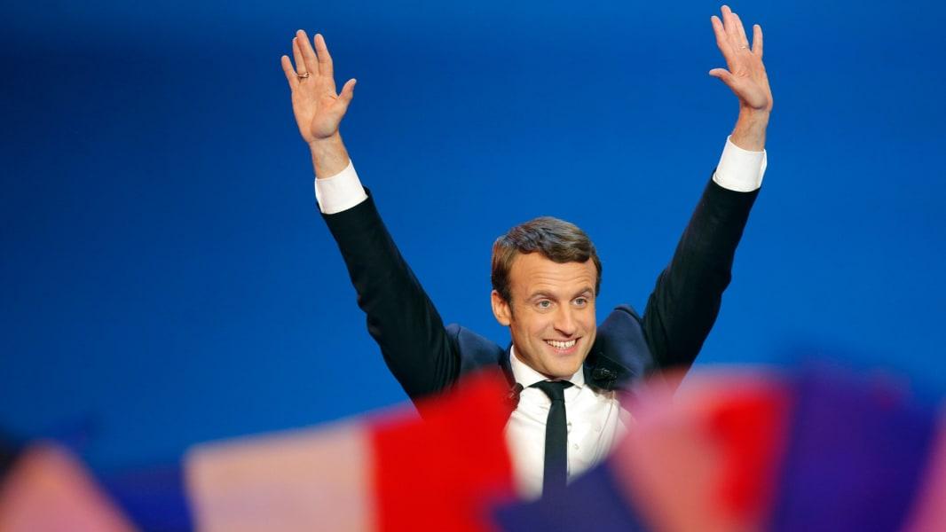 Emmanuel Macron 0423