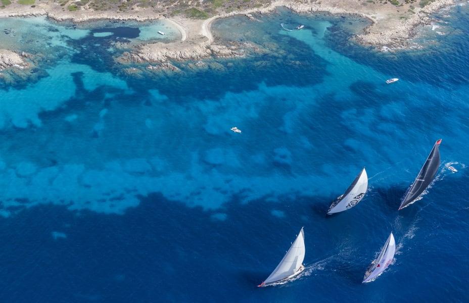 Sailing Sardinia Rolex  emerald water