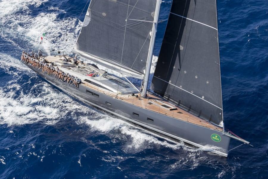 Sailing Sardinia Rolex Nikata