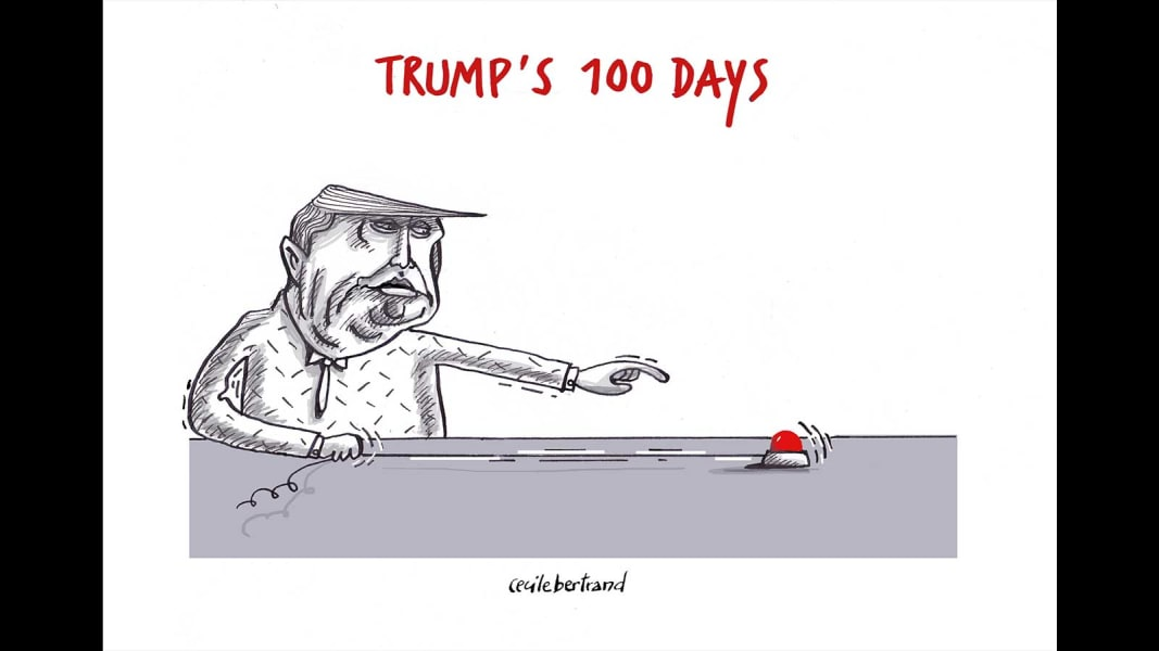 05 100 day trump cartoon