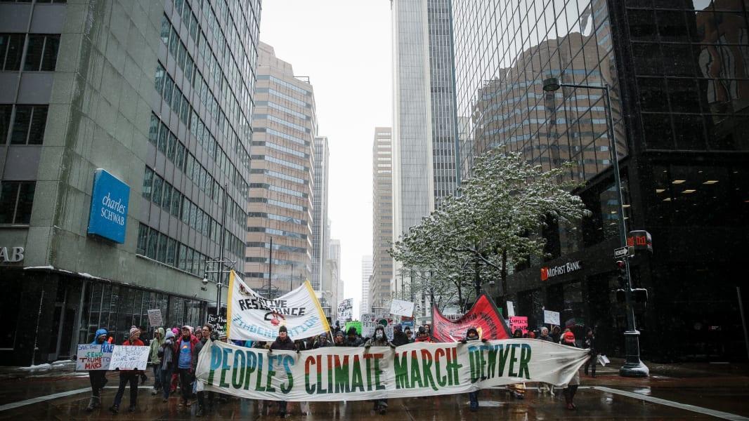 21 Climate March Denver 0429