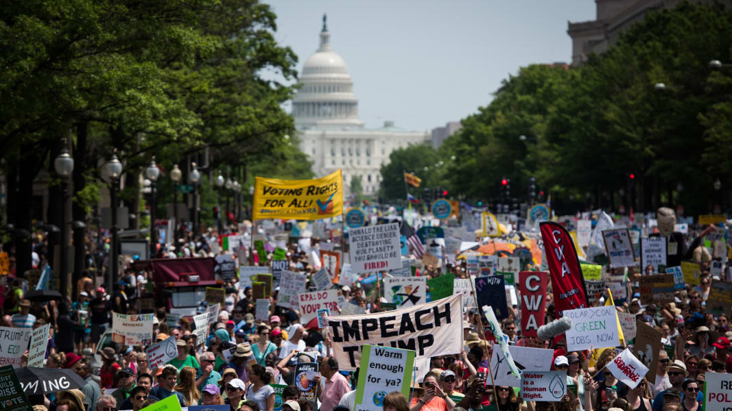 24 Climate March Washington 0429