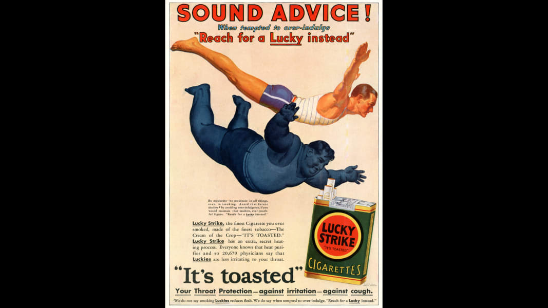 12 tobacco ads