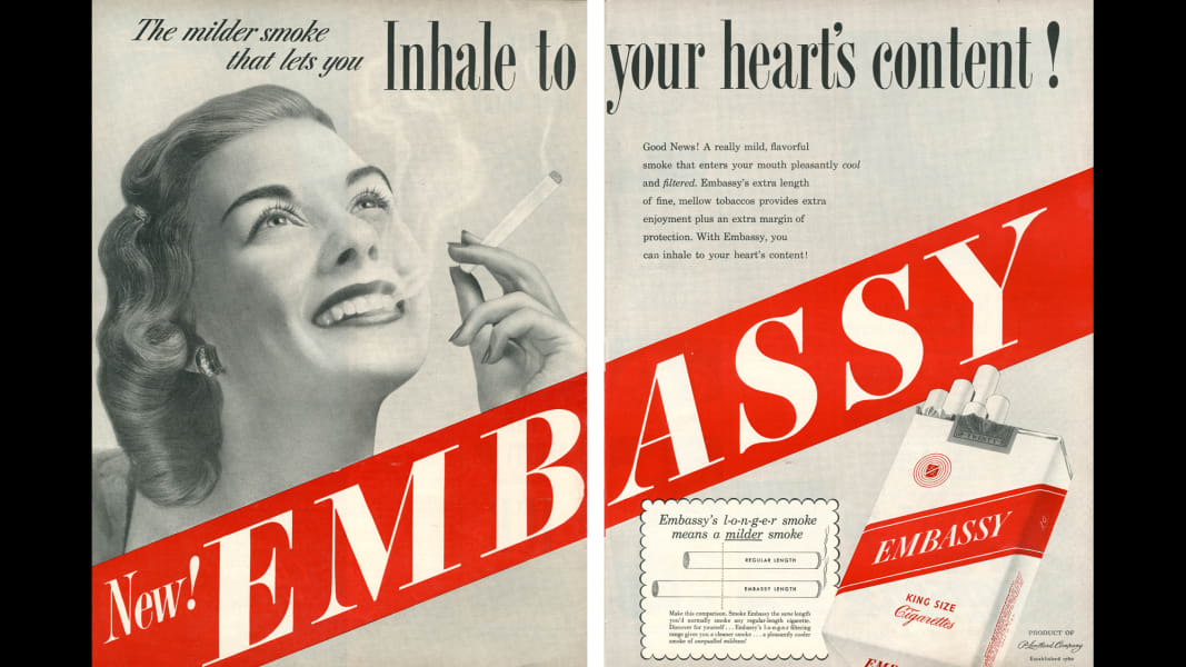 15 tobacco ads
