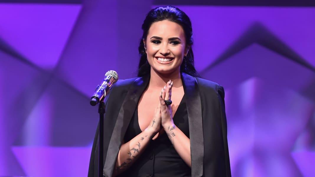 Demi Lovato 0402 FILE