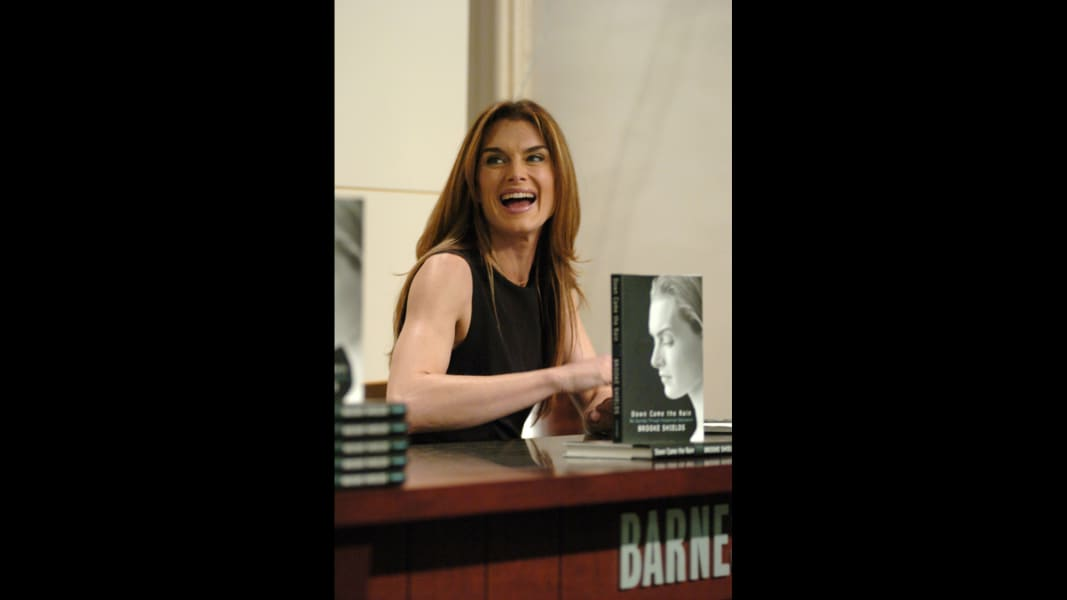 Brooke Shields book 2005 RESTRICTED