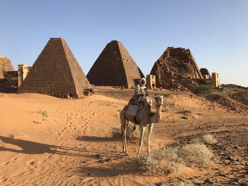 15 sudan pyramids