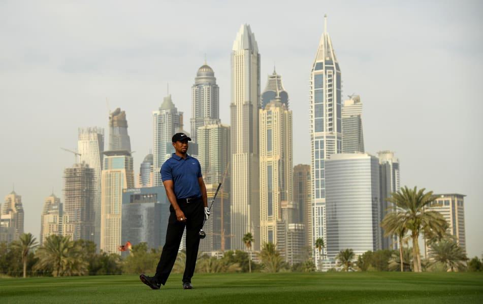 Tiger Woods Dubai 2