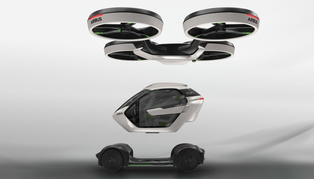 03 flying car - airbus pop.up