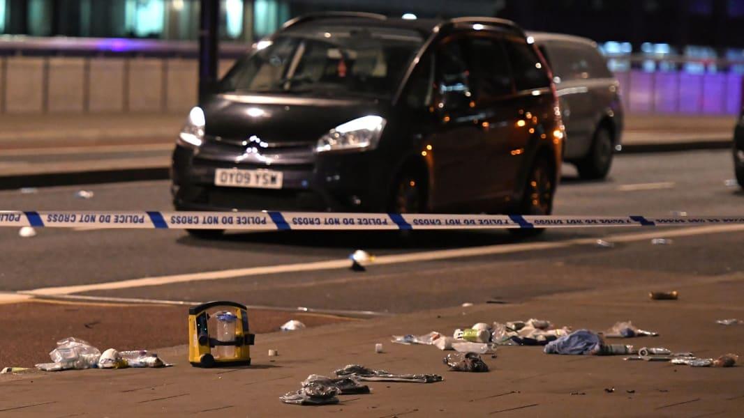 26 London Bridge incident 0603