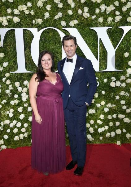 15 Tony Awards Dorota Kishlovsky Andrew Rannells