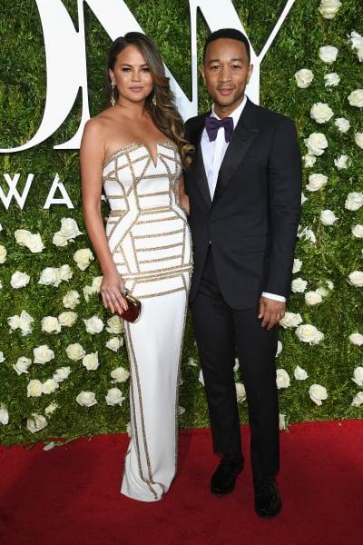 17 Tony Awards Chrissy Teigen John Legend