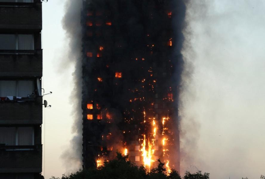 10 london fire
