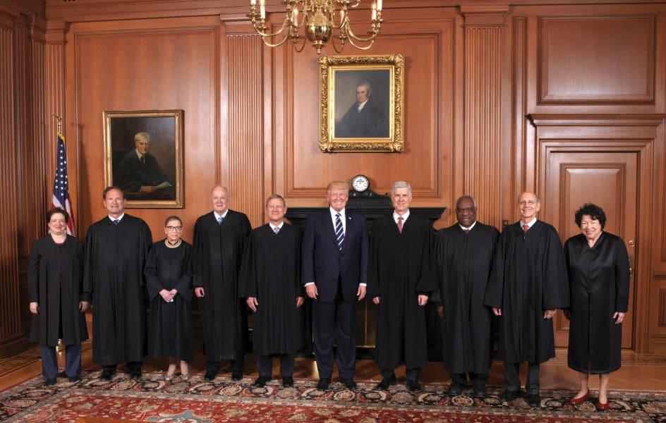 SCOTUS with Trump