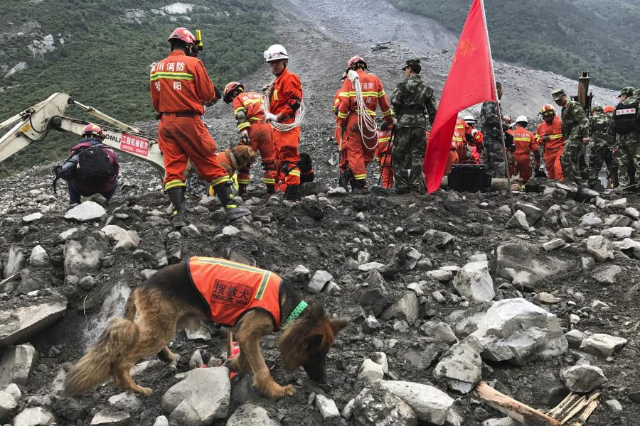 China landlide 0625 1