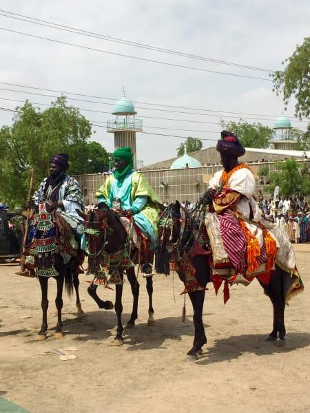 Durbar  Festival Horse back