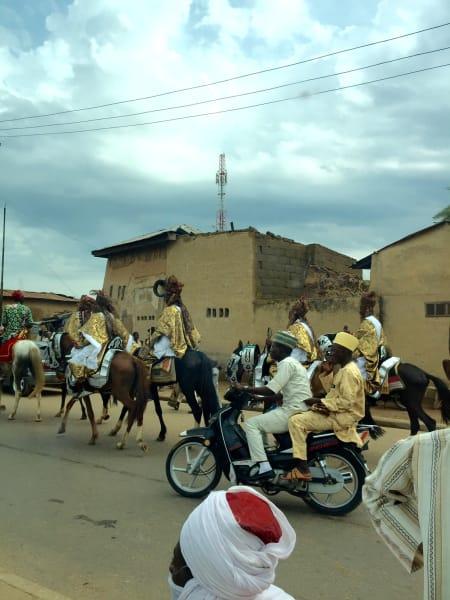 Horsemen at Durbar Festival
