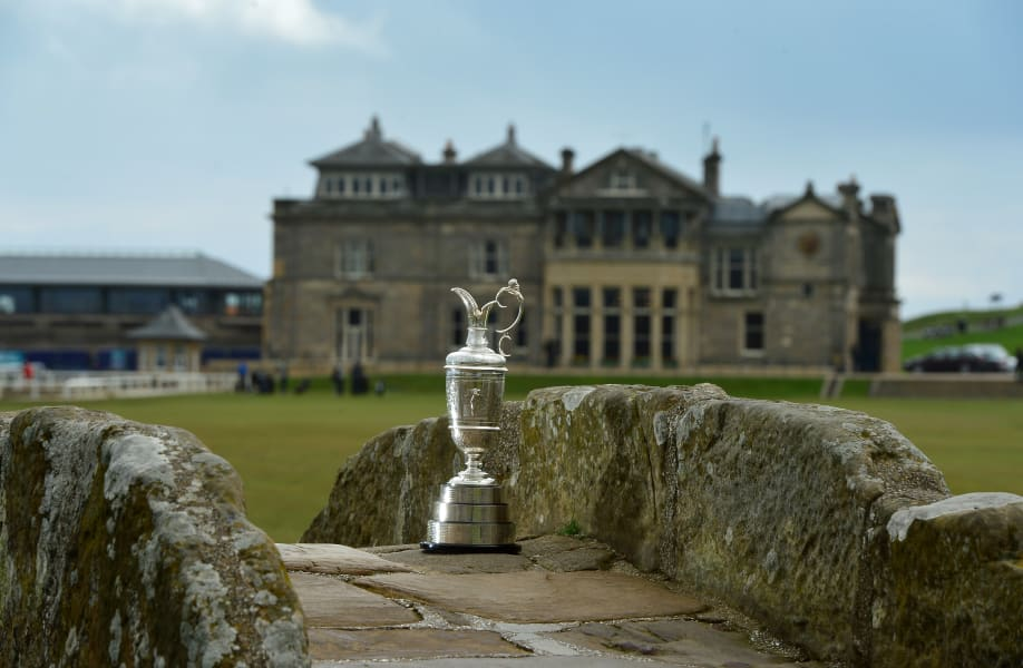 Best British Open golf courses Scotland St Andrews Old Course R&A CLaret Jug