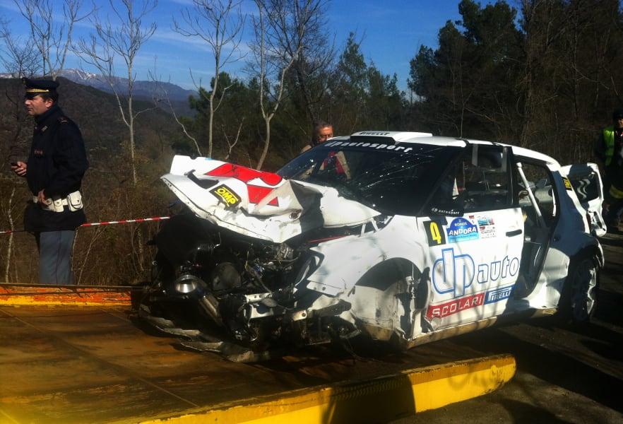 kubica rally crash 2011