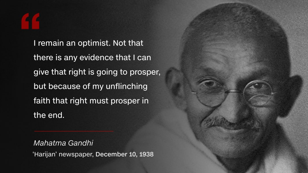 mahatma gandhi ier of peace