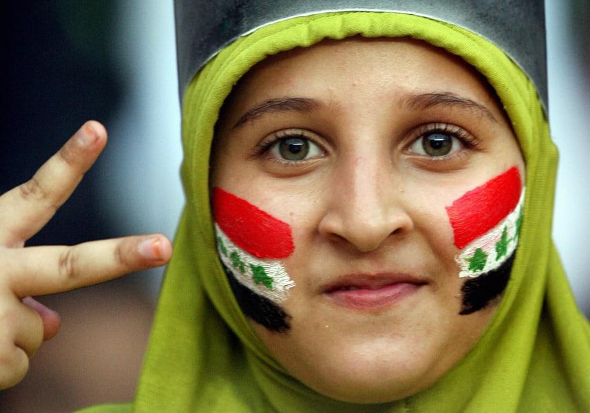 Iraq football fan 2007