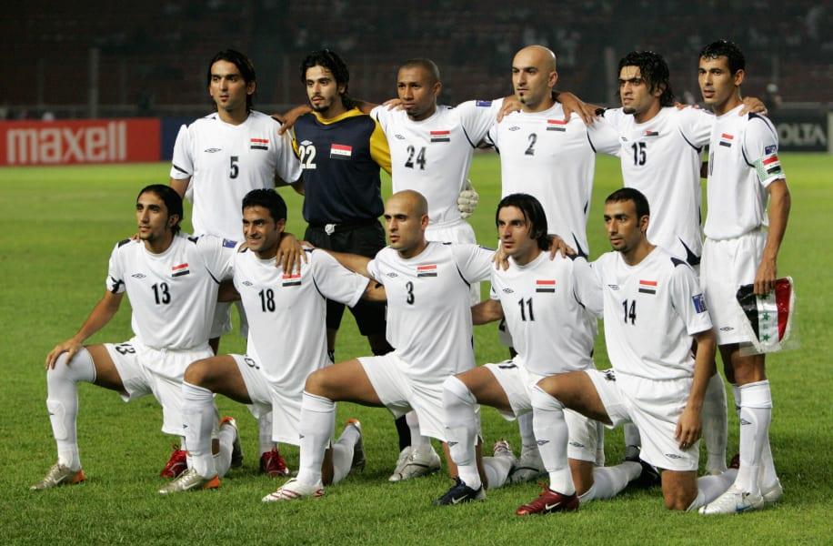Iraq asian cup final team 2007