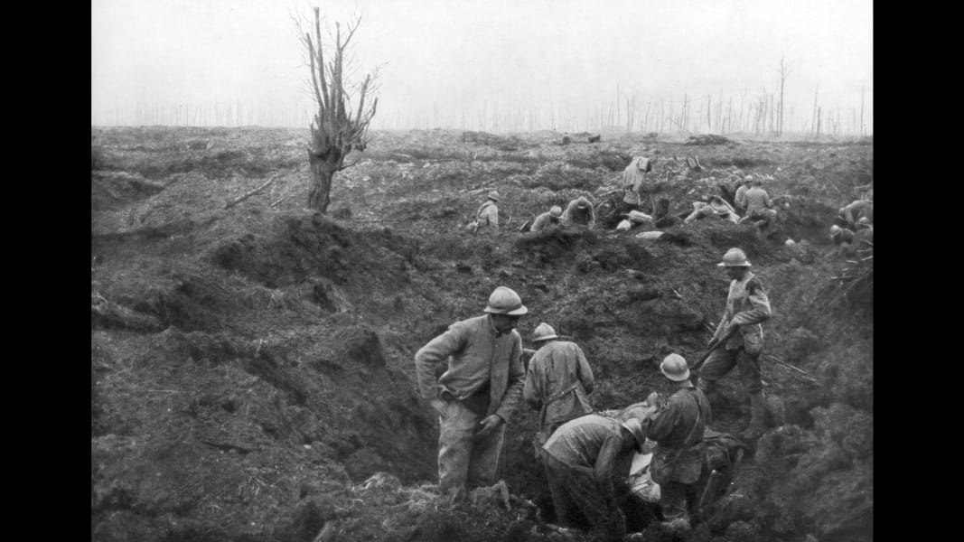 10 Battle of Passchendaele 100th 0730