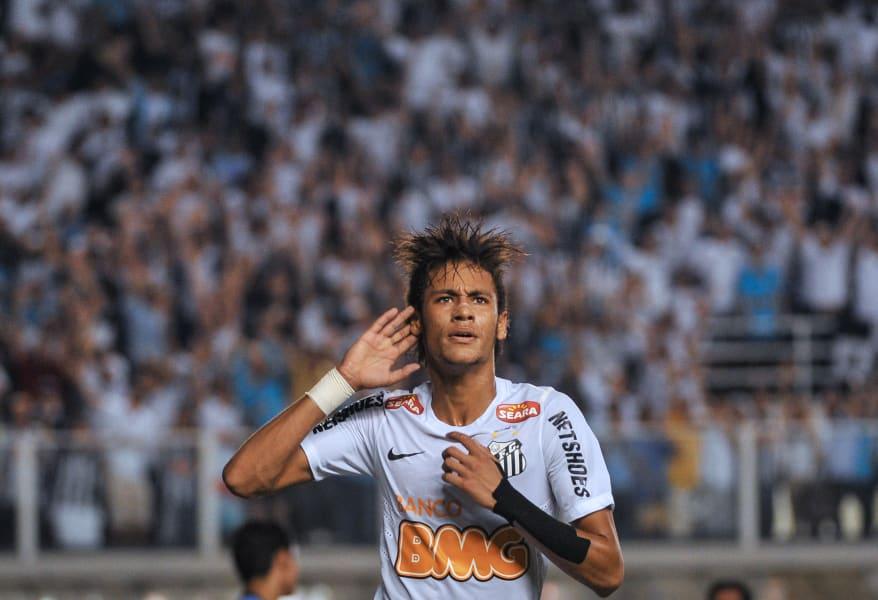 neymar santos