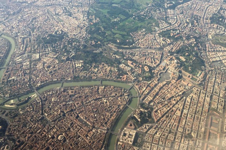 rome aerial