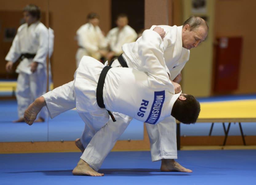 judo famous putin action