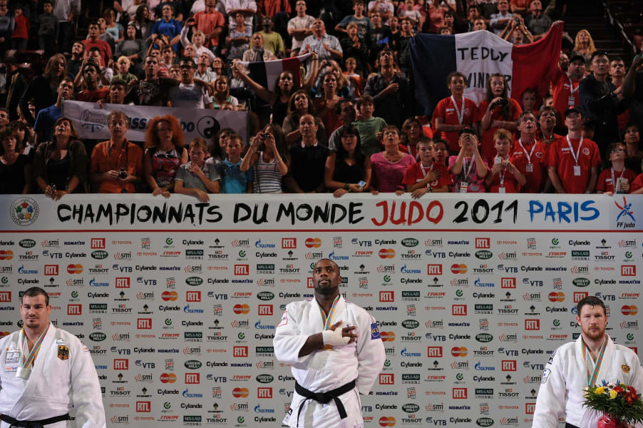 teddy riner 201 paris world champs