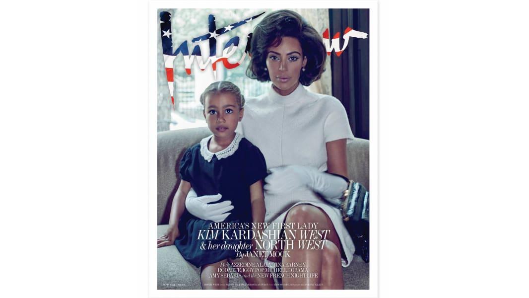Interview cover Kardashian