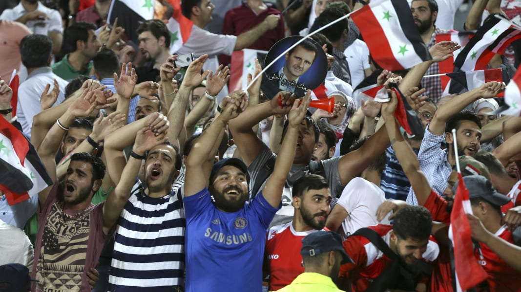 06 syria iran world cup qualifying Russia 2018