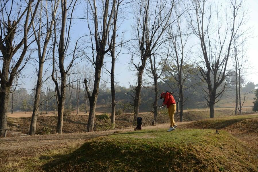 pratima sherpa royal nepal golf club 3