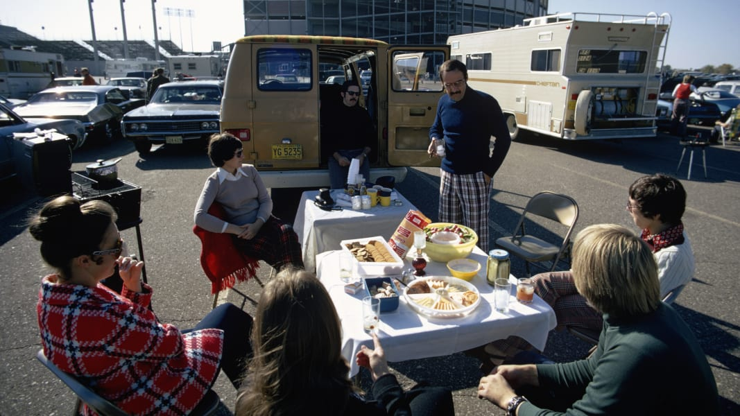 12 Tailgating through the years RESTRICTED