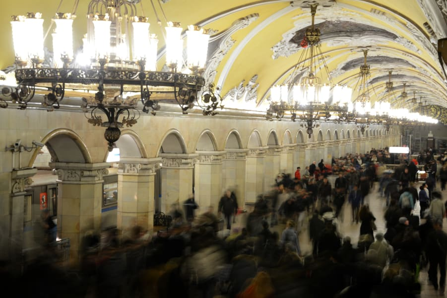 Subways gallery moscow
