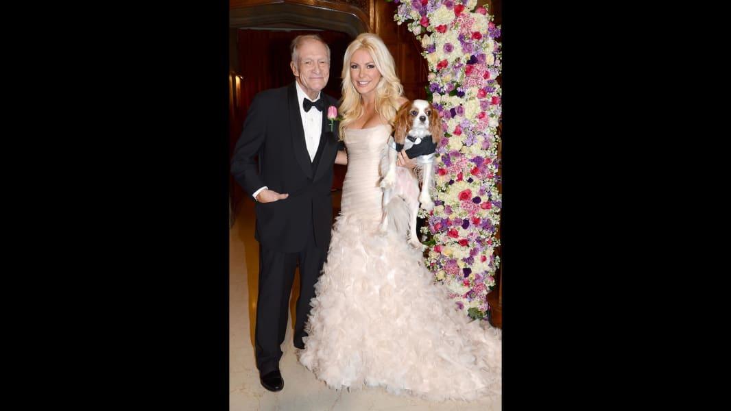 Hugh Hefner Crystal Hefner wedding